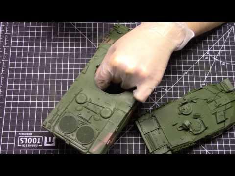 1/35 Leopard 2A7 Part 3 - Painting Part 1