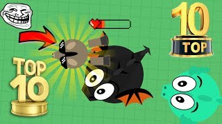MOPE.IO  - TOP 10 KILLS OF ALL TIME!!! EPIC DOUBLE BLACK DRAGON KILLS!!!