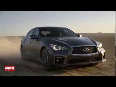 Infiniti Q50: Video zeigt Premium-Mittelklasse aus Japan
