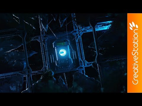 Cracks - 3D Speed art (#Cinema4D, #Photoshop) | CreativeStation