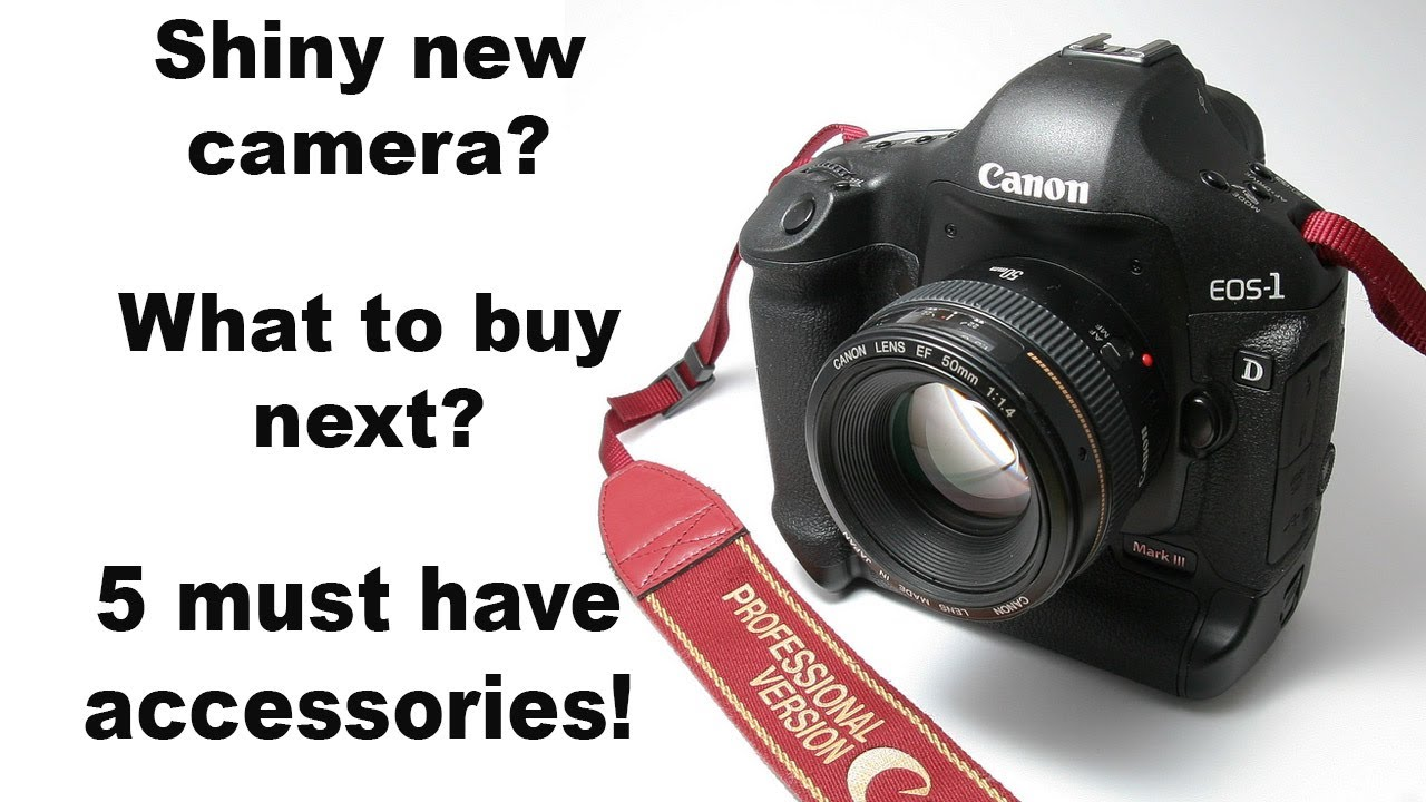 Camera Buying Dslr Camera Tips got a new camera what to buy next 5 must have accessories petes pro tips 4