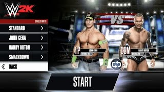 WWE 2K: John Cena VS Randy Orton Part 6