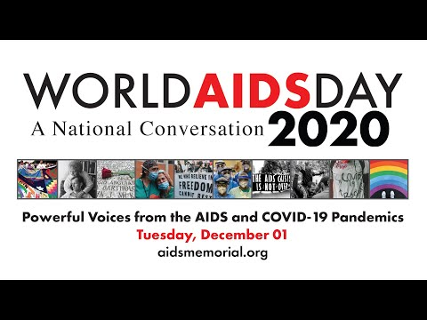 World AIDS Day 2020 - A National Conversation