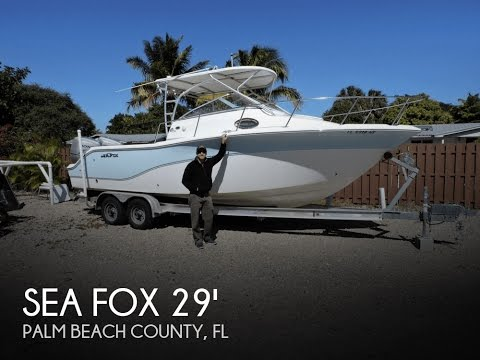 [SOLD] Used 2010 Sea Fox 256 Walkaround In Palm Beach Gardens, Florida