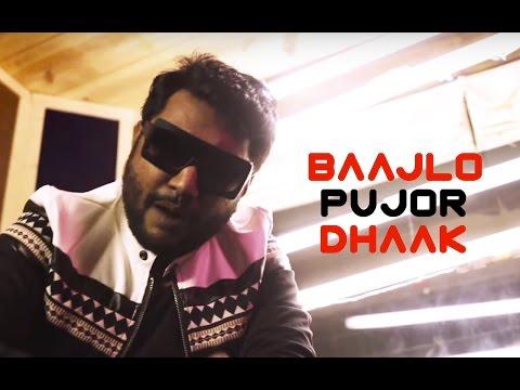 Baajlo Pujor Dhaak Bangla Single   Shadaab Hashmi Official Video   The Latest Durga Pujo Anthem
