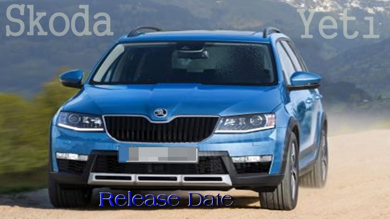 Skoda Yeti Review Redesign And News Update Youtube