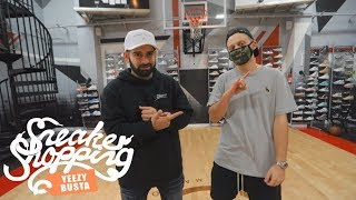 Yeezy Busta Goes Sneaker Shopping With Complex