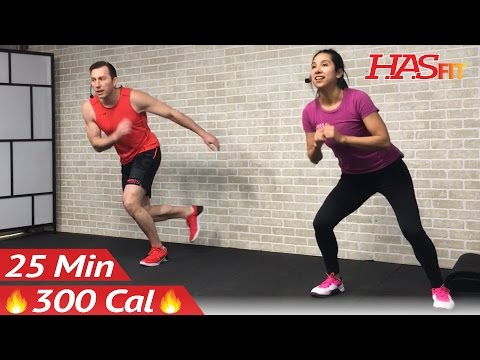 25 Min HIIT Cardio Abs Workout without Equipment at Home Cardio and Abs Workouts No Equipment