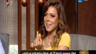 """بالفيديو- ناهد السباعي تكشف خلافها مع حسن الرداد بسبب نهاية """"الزوجة 18"""""""