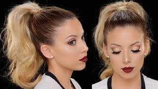 How to: High Ponytail + Instant Face Lift | LustreLux