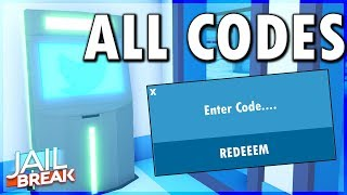 ALL CODES IN ROBLOX JAILBREAK (JAILBREAK WINTER UPDATE) ALL PROMO CODES IN JAILBREAK ROBLOX