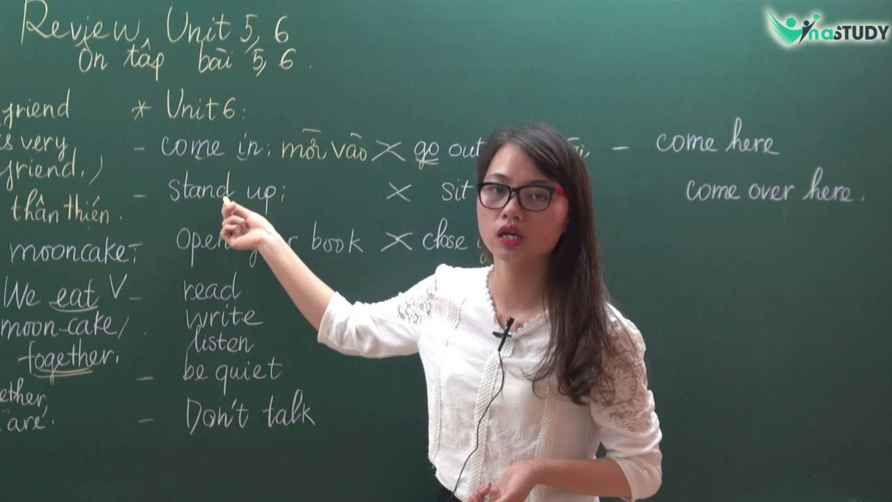 [Tiếng Anh lớp 3] - LUYỆN THI IOE LỚP 3 - Review Vocabulary and Structures Unit 5, 6 - Cô Như Quỳnh