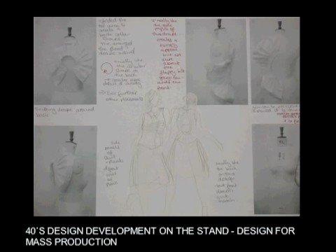 Uel Fashion Amp Textiles Level 1 Portfolio Examples Youtube