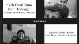 Yeh Dosti Hum Nahi Todenge - Acoustic Instrumental Medley