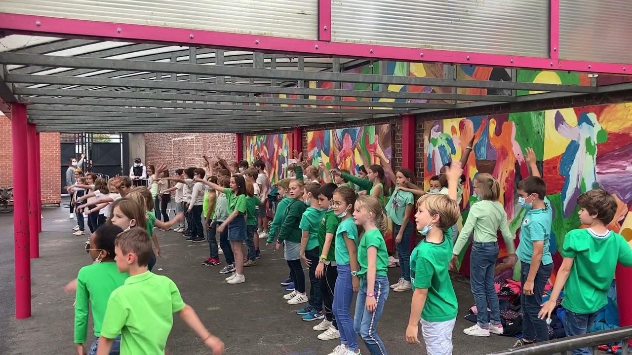 Flashmob des CE2/CM1