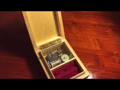 Mécanisme d'une boîte à musique