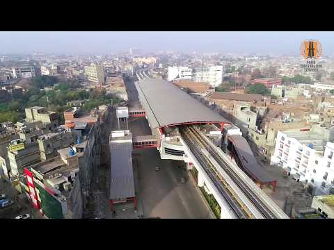 Lahore Orange Line Metro Train Project