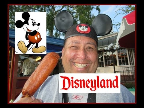 Disneyland® Food Reviews | Little Red Wagon Corn Dogs!