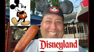 Disneyland® Grubbing | Little Red Wagon Corn Dogs!