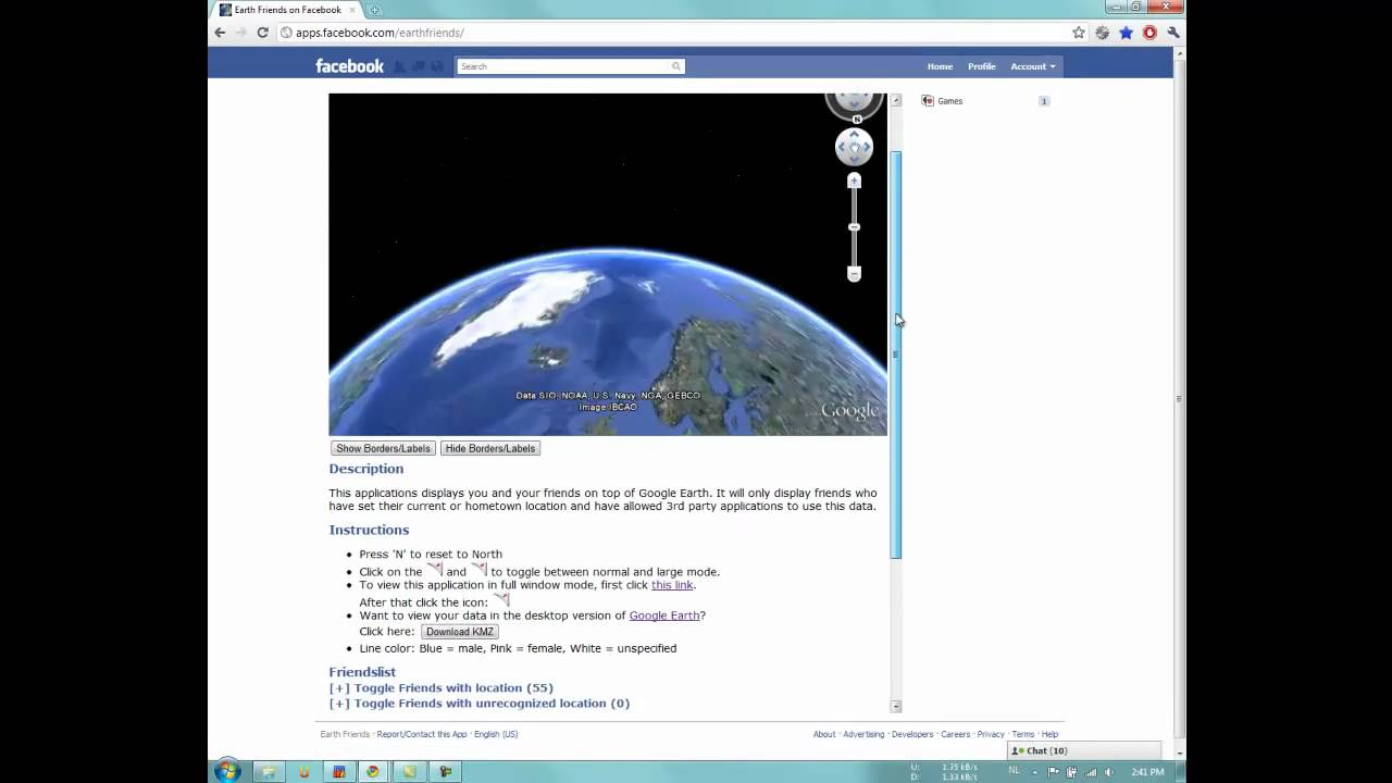 Tutorial 2: How to download the KMZ file for Google Earth