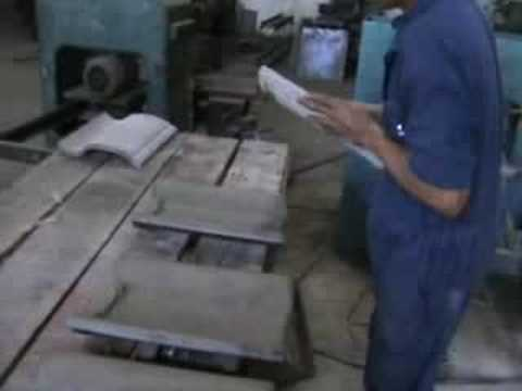 Concrete Roof Tile Machine Youtube