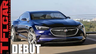 Buick Avista Coupe Concept Debut: With 400 HP & RWD This Aint Your Father's Ride