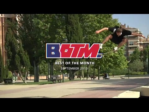 Best of the Month Sept 2016  TW SKATEboarding video