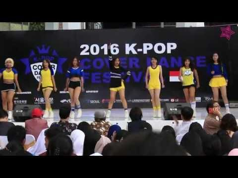 160514 AOA - Elvis and Heart Attack Cover Dance by FREYA at 2016 K-pop Cover Dance Festival - INA
