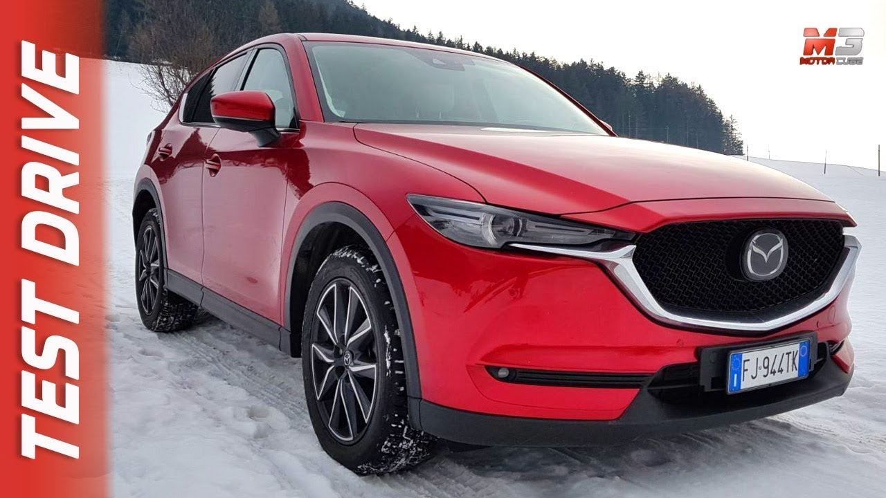 new mazda cx-5 2018 - first snow test drive - youtube