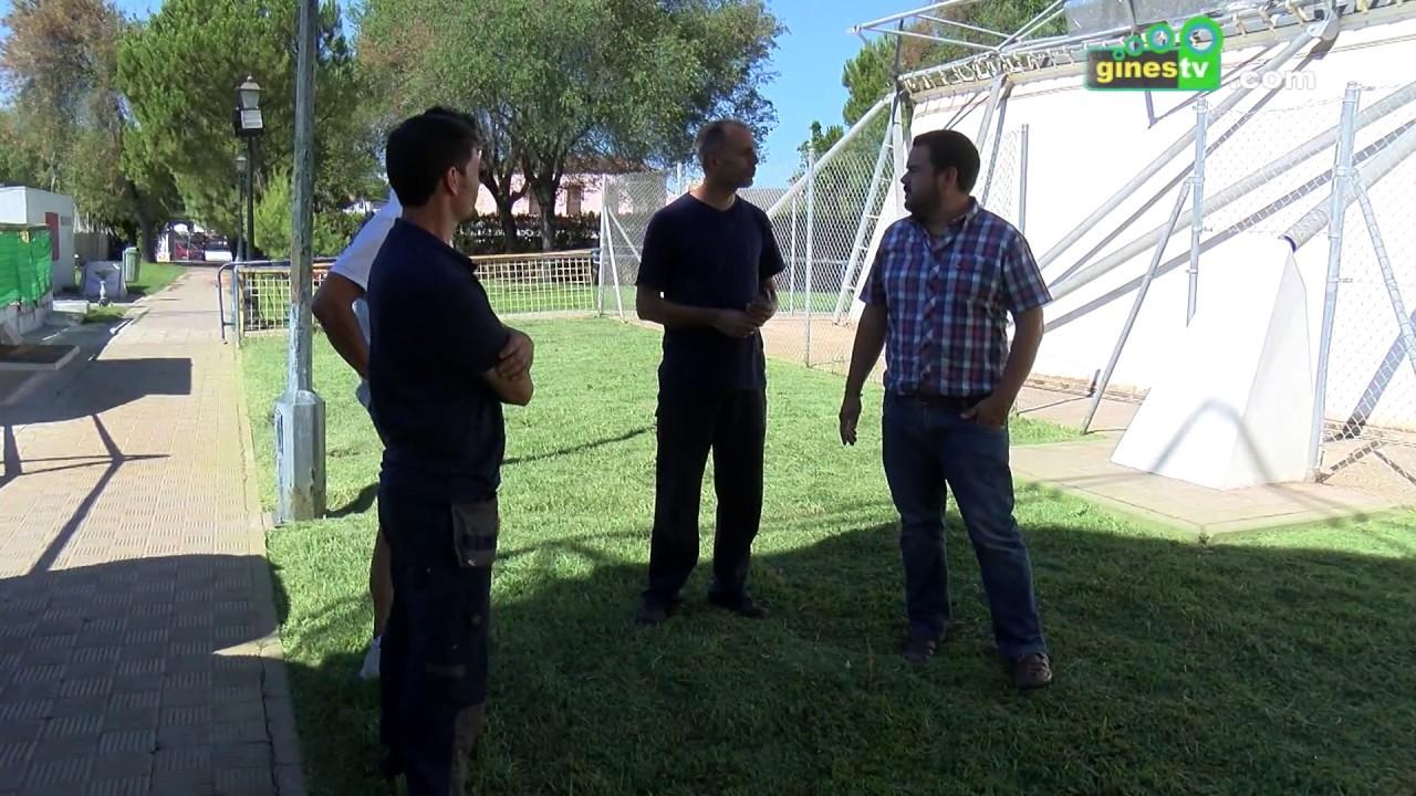 Importantes mejoras en la climatización de la Piscina Cubierta Municipal de Gines