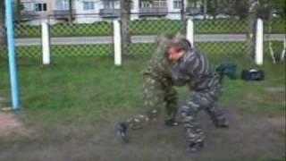Защита от бокового удара. Рукопашный бой