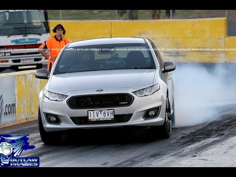 Ford FGX XR6T Auto at Calder Park Friday Street Meet April 7th 2017