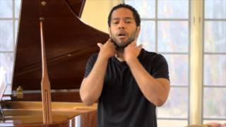 "Professional Vocal Warmup 1 - ""Opening Up The Voice"""