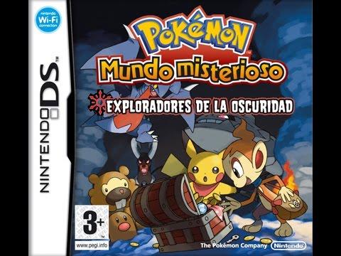 Rom de pokémon mundo misterioso: exploradores de la oscuridad (eur.