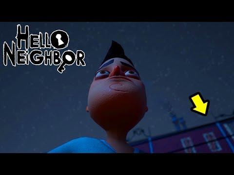 СБЕЖАЛ ИЗ ЖУТКОГО ДОМА ДОМА! Hello Neighbor (ПРИВЕТ СОСЕД) часть 3