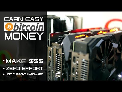 Noob's Guide To Bitcoin Mining - Super Easy \u0026 Simple