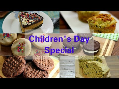Children Day's Special Recipes | Kids Special Recipes | Quick Snacks For Kids