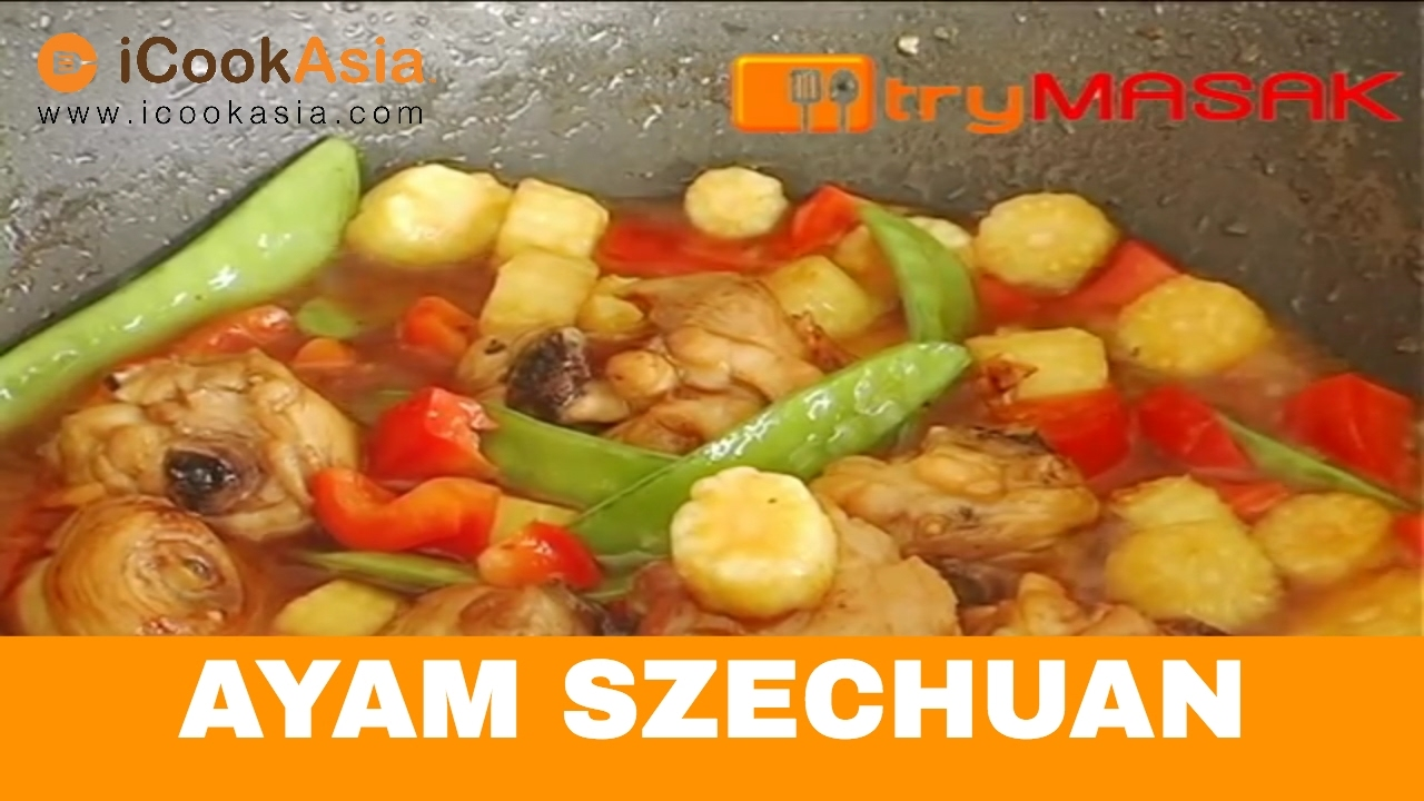Ayam Szechuan | Try Masak | iCookAsia - YouTube