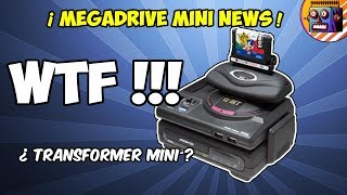 🔥 MEGA DRIVE MINI ANUNCIA TODA LA LISTA DE 42 JUEGOS Y la mega drive tower mini ADD ON 32x , megacd