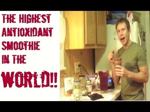 The Highest Antioxidant Smoothie In the World!!