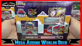 Pokemon Cards 2016 World Championships Mega Audino EX Deck Opening - Masters Champion