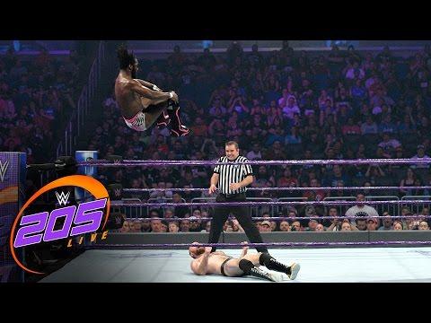 Rich Swann vs. Oney Lorcan: WWE 205 Live, April 4, 2017