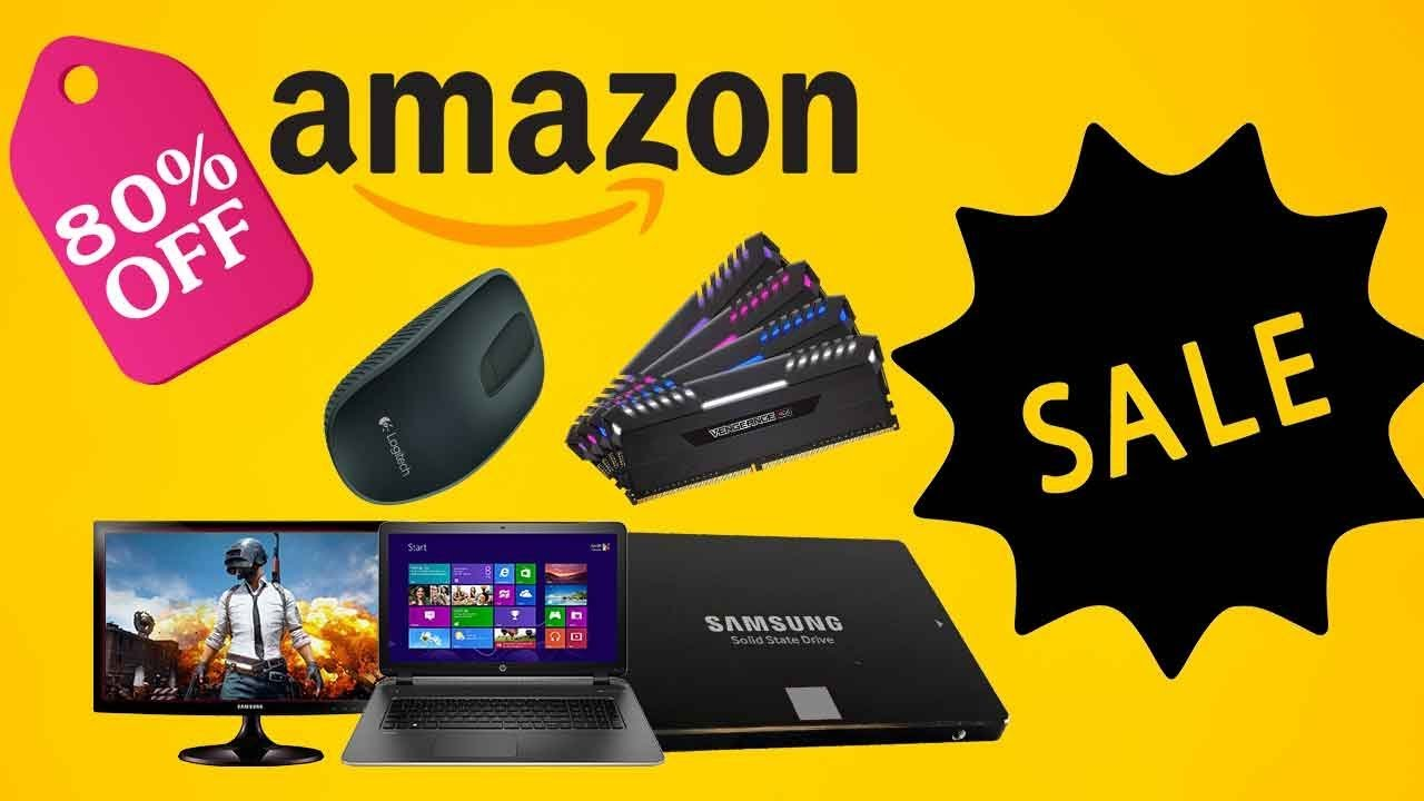AMAZON SUMMER SALE 2019. Laptops, Monitors, RAM, SSD etc.