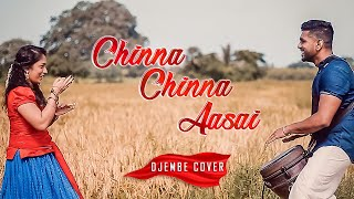Chinna Chinna Aasai | Djembe Cover | Tribute To A. R. Rahman