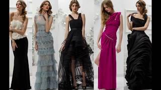 Модные вечерние платья 2017-2018