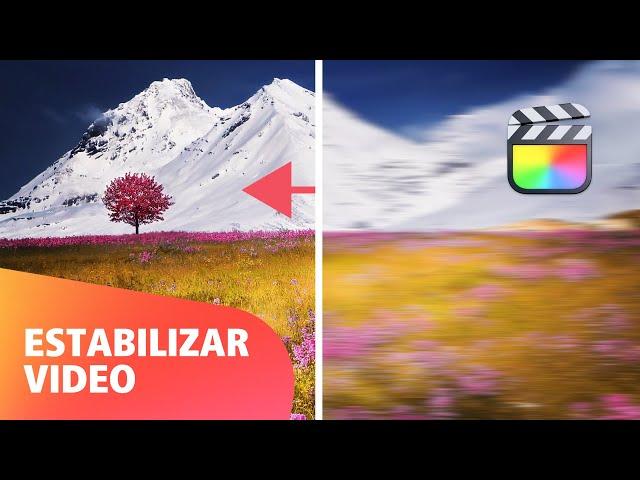 Cómo Estabilizar Vídeos en Final Cut Pro