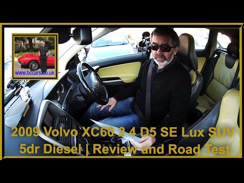 Review and Virtual Video Road Test  In Our Volvo XC60 2 4 D5 SE Lux SUV 5dr Diesel