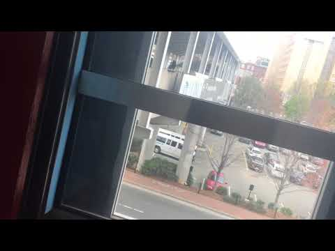 1 minute ride On The Otis Hydraulic Elevator At UNC Cardinal Parking Deck, Chapel Hill NC