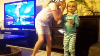 3 year old pooping pants during Ellen's heads up