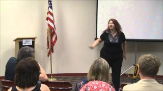 Area H-4 Tall Tales Speech Contest delivered by Melanie Hope